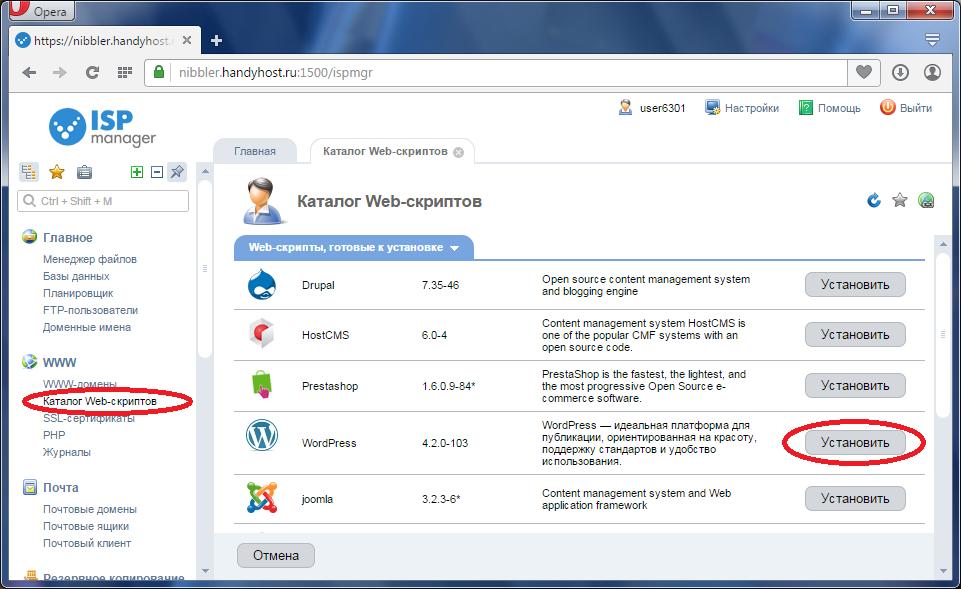 Ispmanager для хостинга установка хостинг с доменом ru в подарок